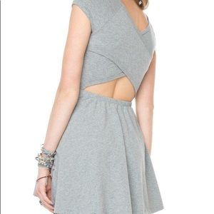 Brandy Melville Bethan Dress GRAY